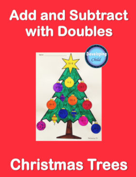 add-and-subtract-with-doubles-trees-cover