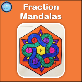 Fraction Mandalas Logo Cover.png